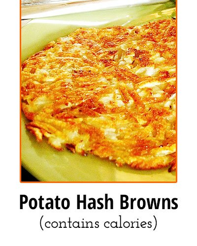 Potato Hash Browns Low Sodium Food