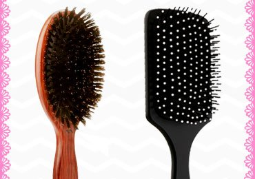 Types Of Hair Brushes And Their Uses
