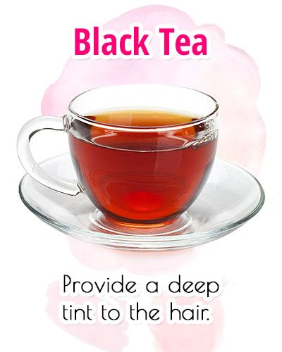Black Tea For Premature Gray Hair