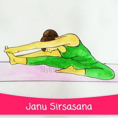 Janu Sirsasana