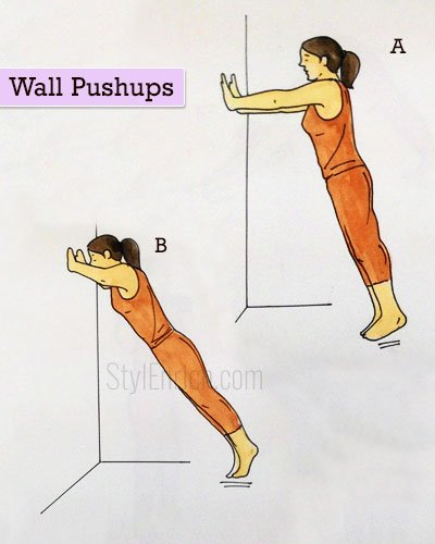 Wall Pushups