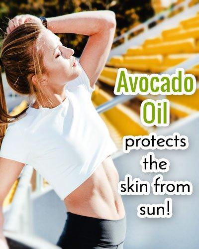 Avocado Oil Sunscreen For Face