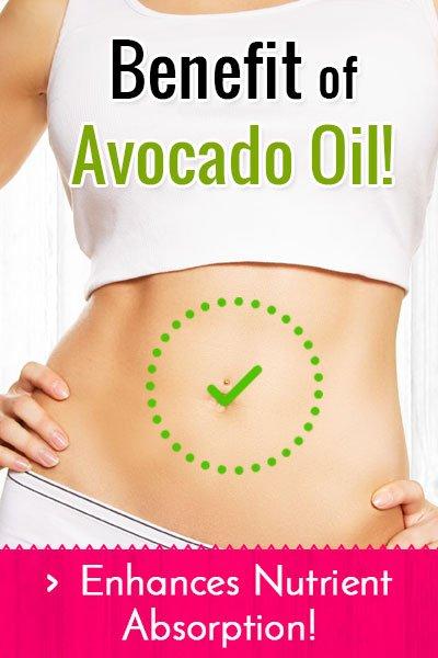Avocado Oil Enhances Nutrient Absorption