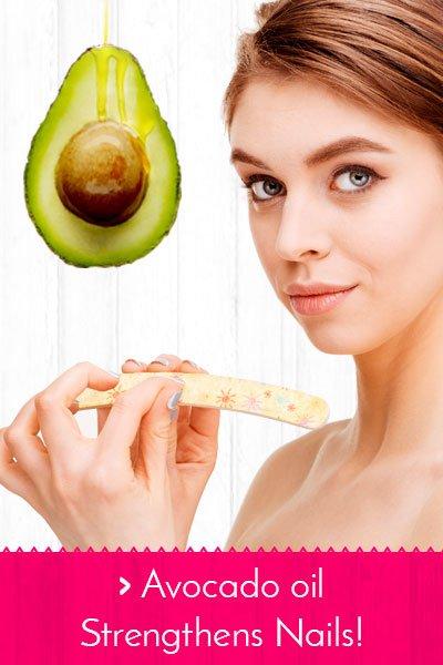 Avocado Oil Strengthens Nails