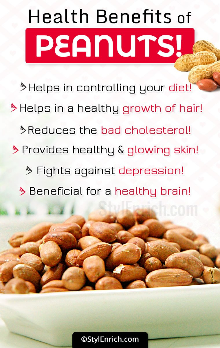 Benefits Of Peanuts