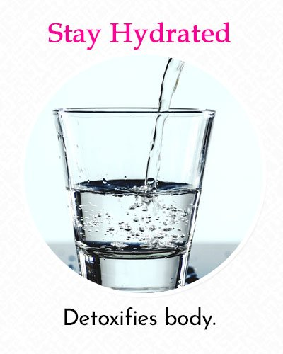 Stay Hydrated To Fix Uneven Skin Tone