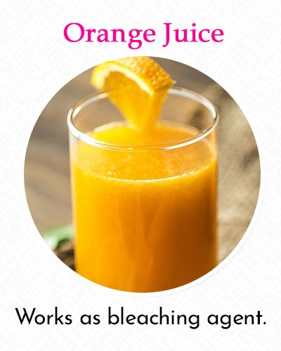 Orange Juice To Fix Uneven Skin Tone