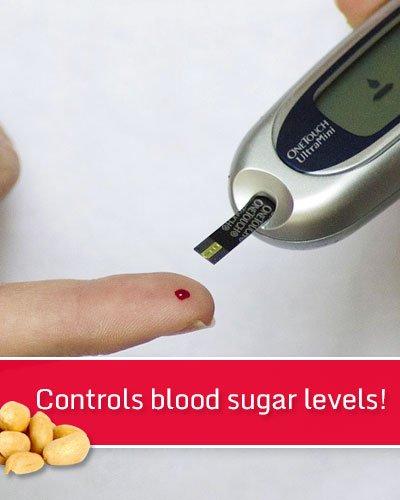 Peanuts Controls Blood Sugar Levels
