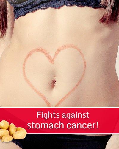 Peanuts Fighting Against Stomach Cancer