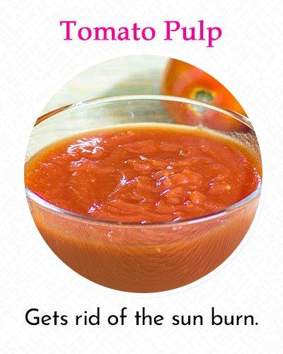 Tomato Pulp To Fix Uneven Skin Tone