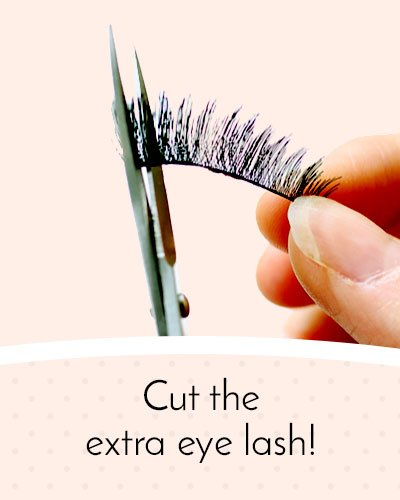 How To Cut The Lashes To Fit