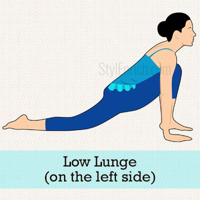 Low Lunge (On The Left Side)
