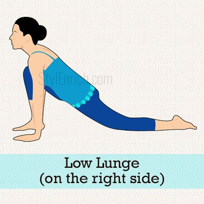 Low Lunge (On The Right Side)