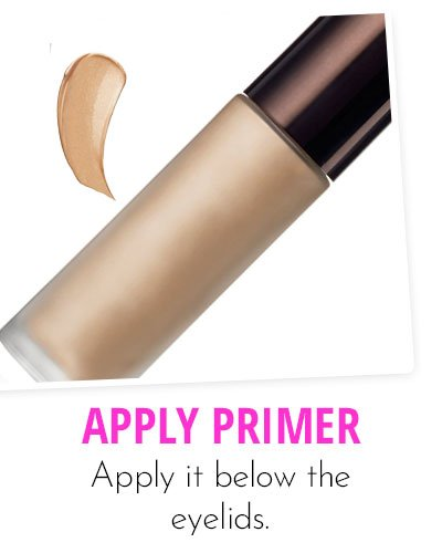 Application Of Primer Makeup