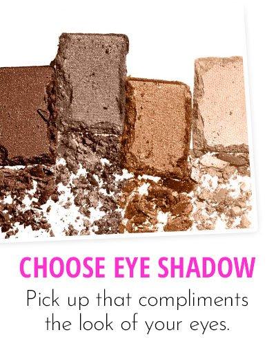 Choice Of Eye Shadow Colours