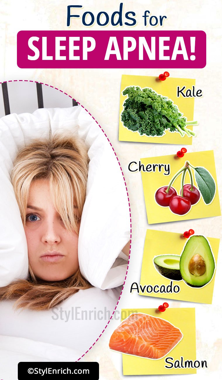 Foods That Help Sleep Apnea