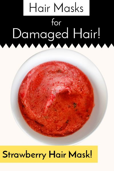 Hair Mask Of Strawberry