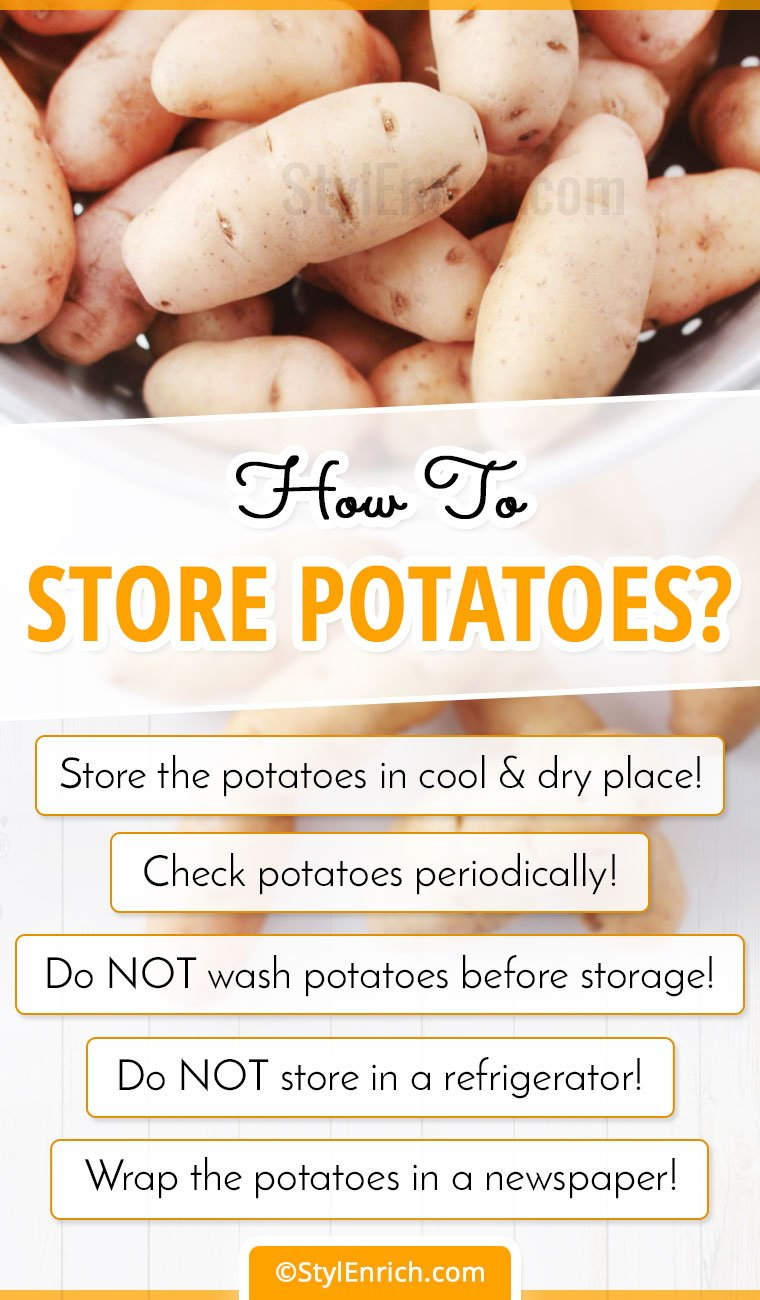 How To Store Potatoes?