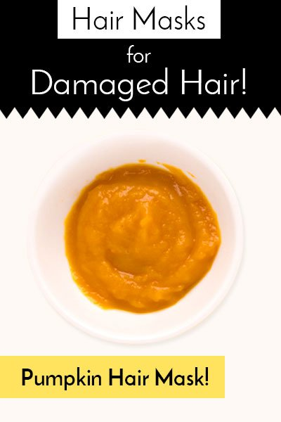 Pumpkin Hair Masks