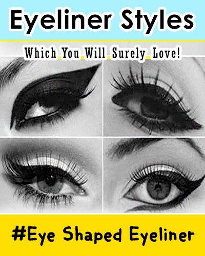 Eye Shape Eyeliner Styles