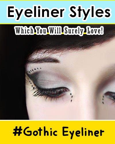 Gothic Eyeliner Style