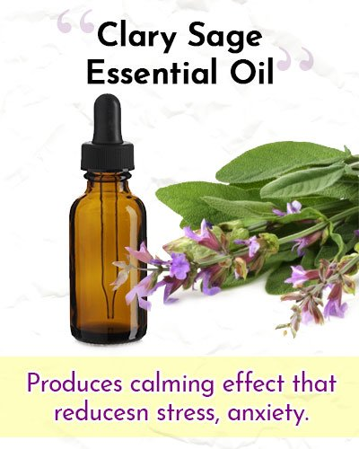 Clary Sage Essential Oil For Wrinkles