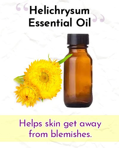 Helichrysum Essential Oil For Wrinkles