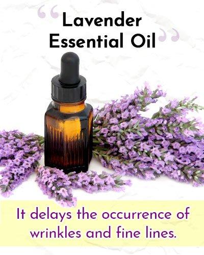 Lavender Essential Oil For Wrinkles