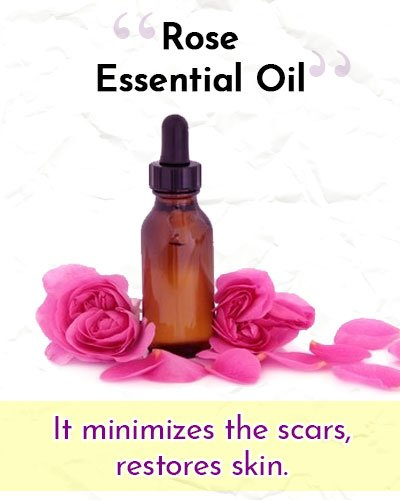 Rose Essential Oil For Wrinkles