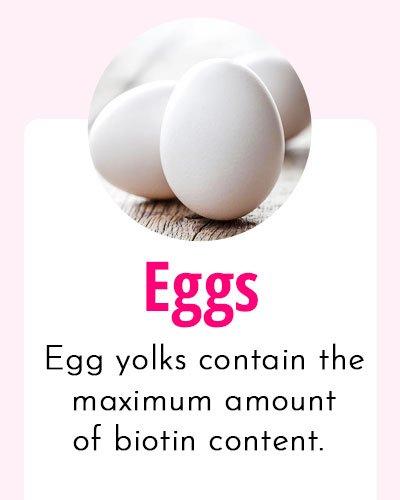 Eggs-Biotin Rich Food