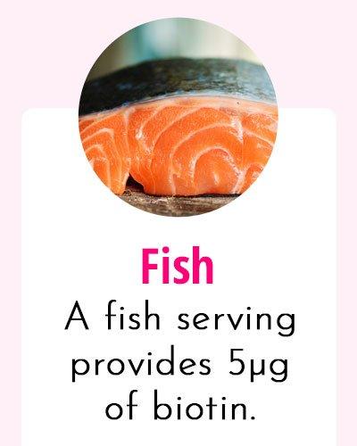 Fish-Biotin Rich Food