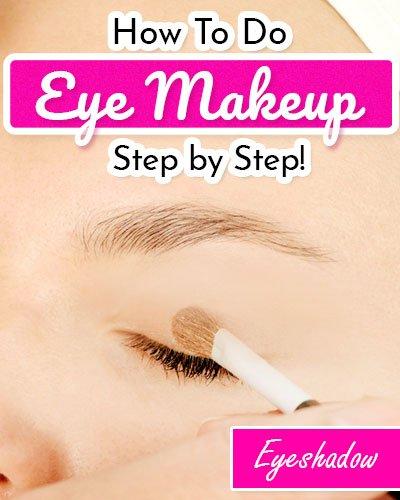 Get Working On The Eyeshadow