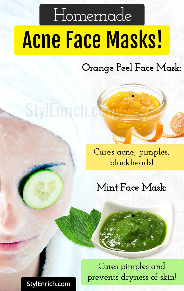 Homemade Acne Mask