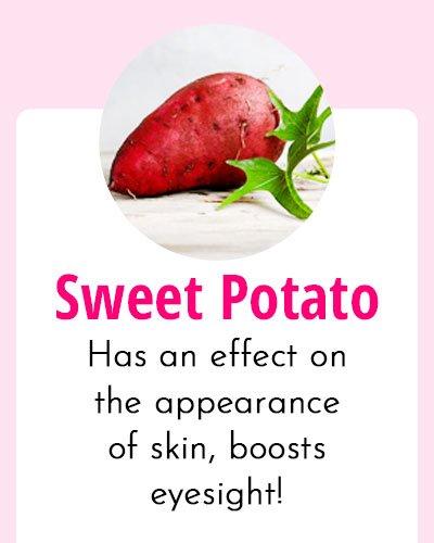 Sweet Potato - Biotin Rich Food