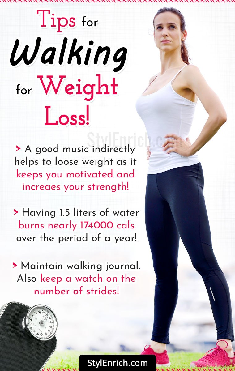 Walking For Weight Loss Tips