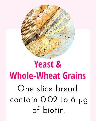 Yeast-Biotin Rich Food