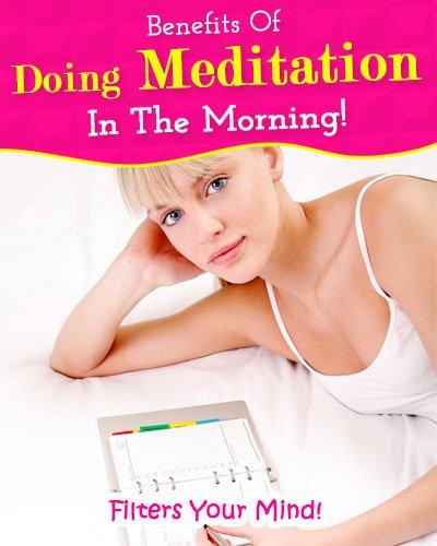 Meditation Gives Your Mind A Filter