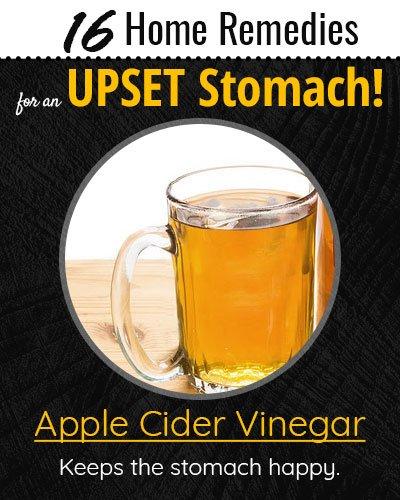Apple Cider Vinegar For Upset Stomach