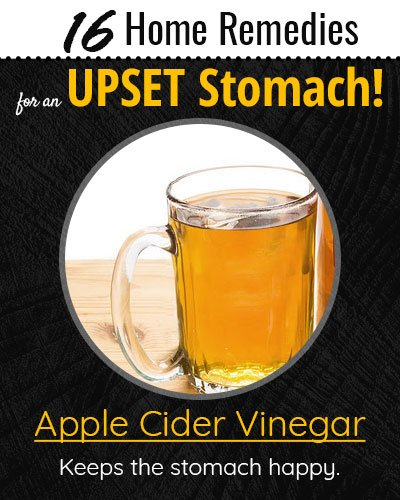 Apple Cider Vinegar For Upset Stomach