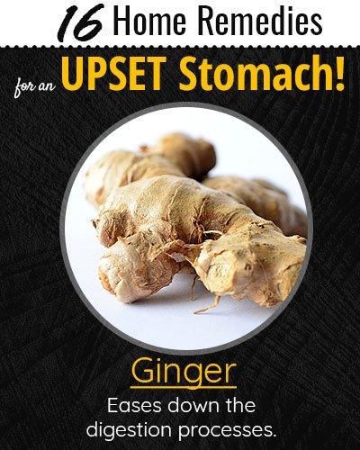 Ginger For Upset Stomach