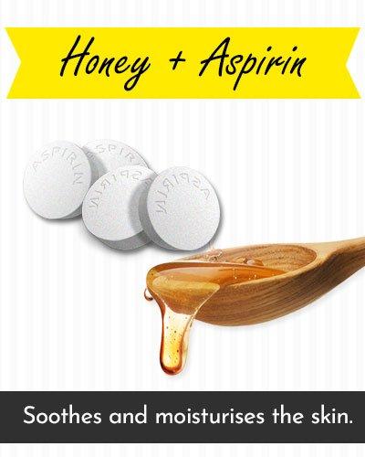 Honey & Aspirin Face Mask For Acne