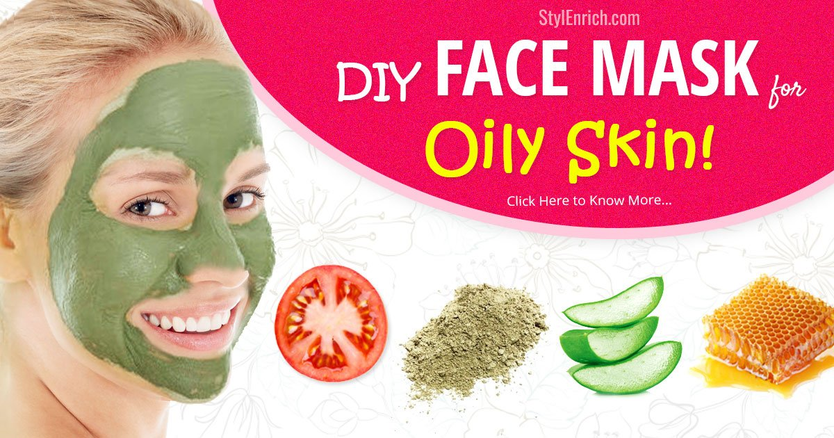Diy face mask for oily skin try hands on these effective remedies solutioingenieria Image collections