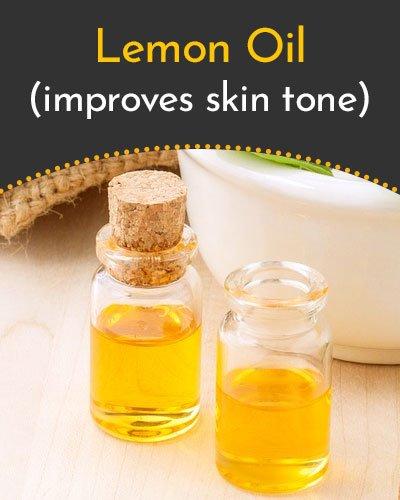 Lemon Essential Oil for Scars