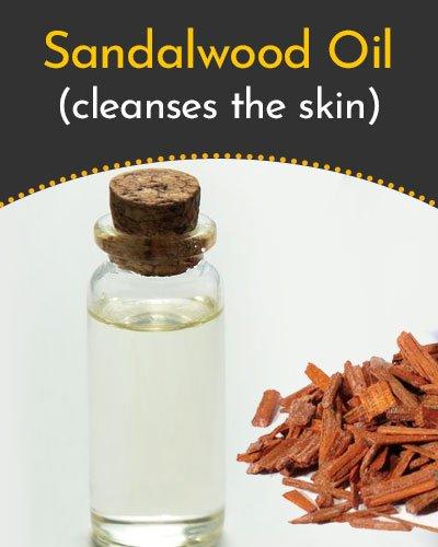 Sandalwood Essential Oil for Scars