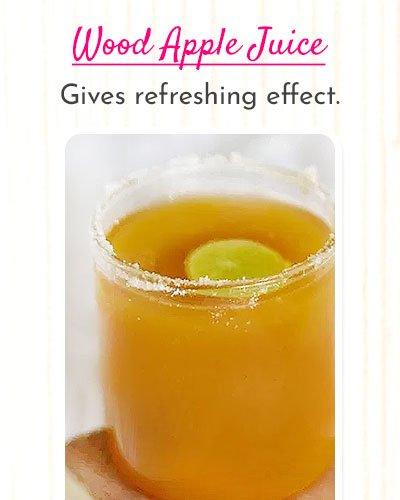 Wood Apple Juice Recipe For Summer