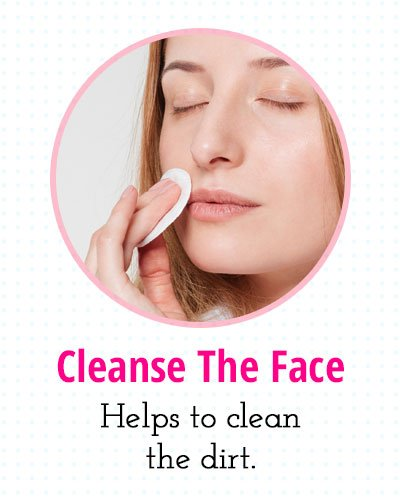 Cleansing The Face