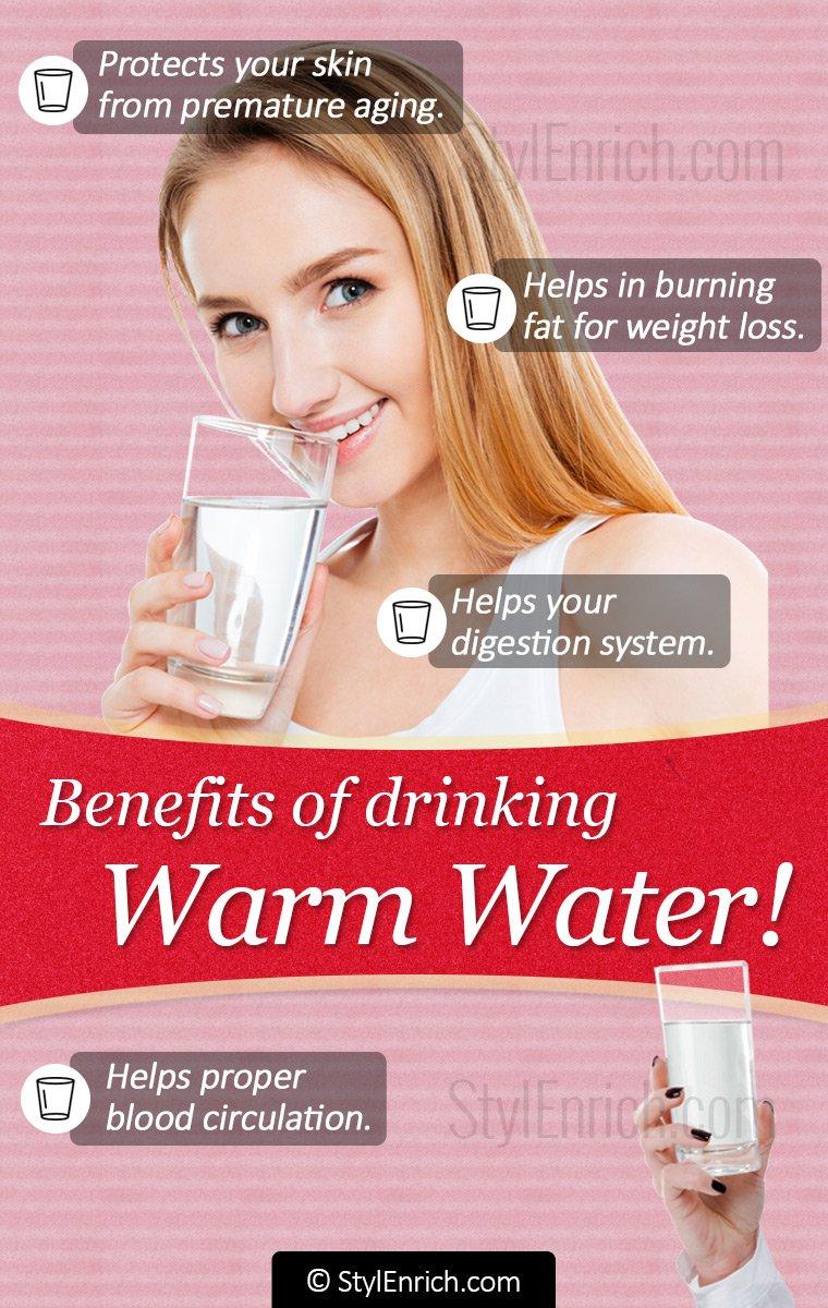 Benefits of Drinking Warm Water