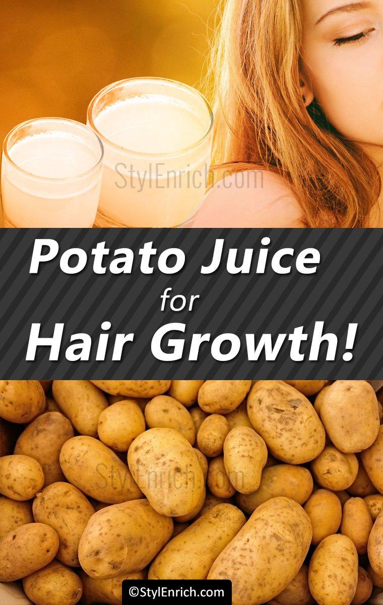 Potato Juice for Hair Growth