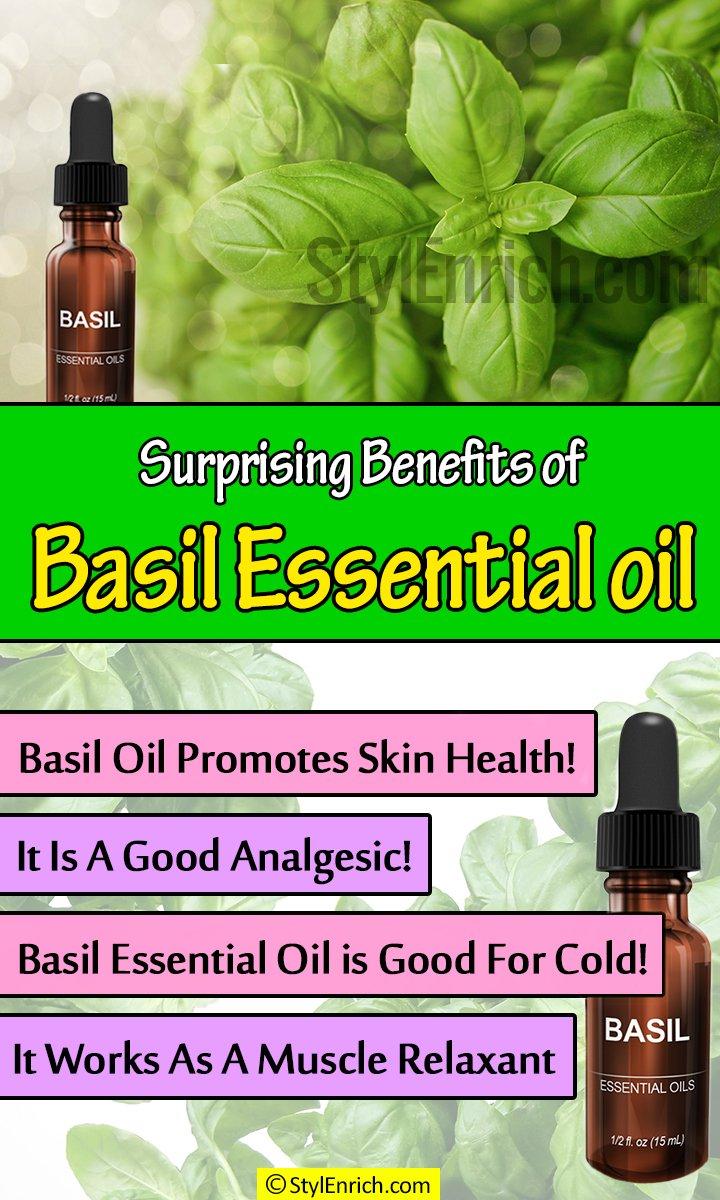 Basil Essential Oil Benefits