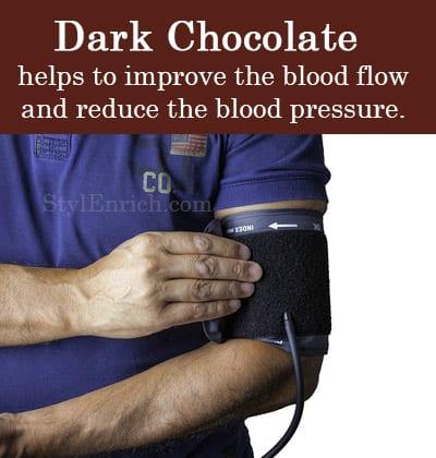 Dark Chocolate Helps Reduce Blood Pressure